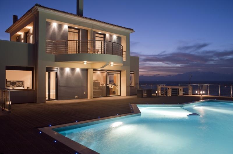Villa Sun holiday vacation villa rental greece, crete, sea views, pool, near Chania, holiday vacation villa to rent to let greece, - Image 1 - Chania - rentals