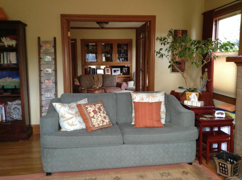 Study with fold-out couch. Living room in back ground. - Beautiful Home in a GREAT Location - Berkeley - rentals