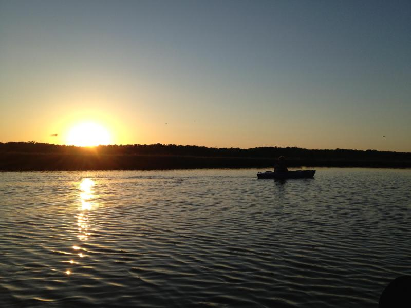 Kayaking with beautiful sunset views - One By Nature Two By Sea - Barnegat - rentals