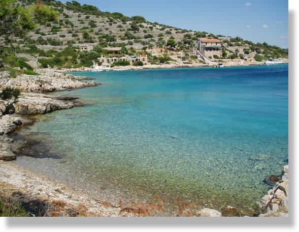 Charming apartment on a calm island,40m from beach - Image 1 - Kaprije - rentals