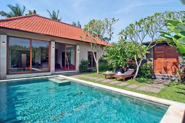 Villa Good Karma Swimming Pool and Garden View - Villa Good Karma, Petitenget - Bali - Seminyak - rentals