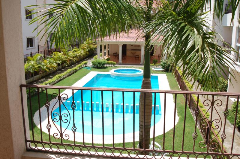 Piscina y zona ajardinada - Beautiful 1 bed 1 bath with pool and garden view - Punta Cana - rentals
