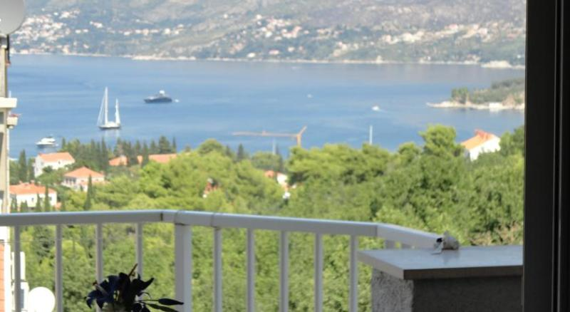 VIEW FROM BALCONY - Sea view apartment close to center ,2+2 - Cavtat - rentals