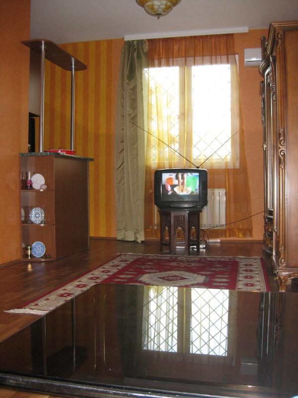 Living room on Rustaveli Ave. side - Appartment for Rent in Tbilisi centre, Georgia - Tbilisi - rentals