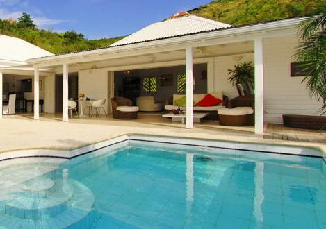 Ylang Ylang at Flamands, St. Barth - Ocean View, Large and Sunny Deck, Tropical Garden - Image 1 - Flamands - rentals