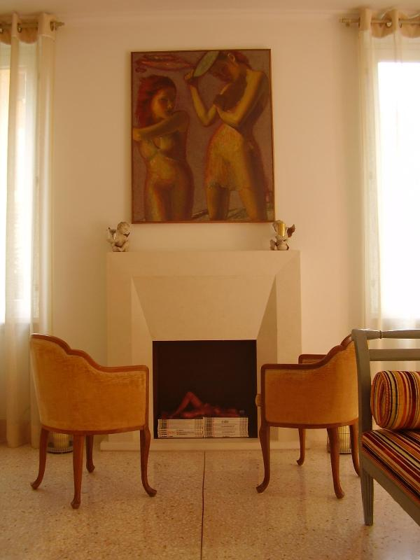 Living Room - Luxury apartment near S. Giovanni in Laterano - Rome - rentals