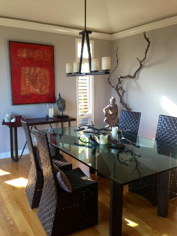 Dining Room (2) - July 4-12 Special, Spacious Modern House, Parking - San Francisco - rentals