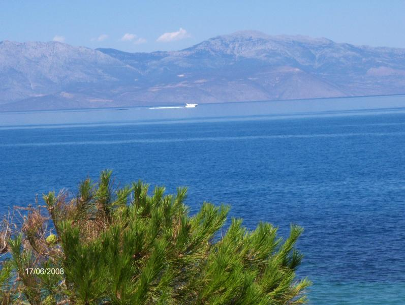 View from Balcony - MELISSI BY THE SEA - Melissi - rentals
