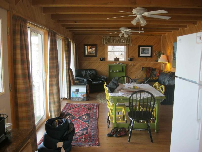 Open Living Area With Views - 4 Bedroom Oceanfront House in Eastport, Maine - Eastport - rentals