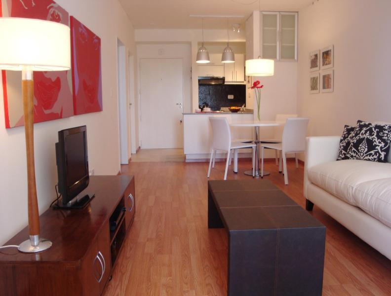 Living room and dinnig room - NICE APARTMENT IN PALERMO- LAS CAÑITAS - Buenos Aires - rentals