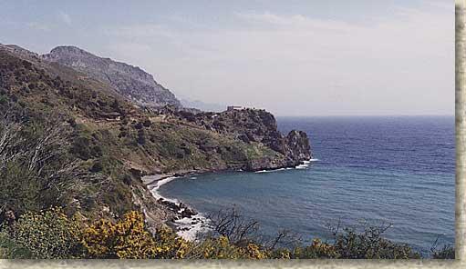 Studio with a sea view - Image 1 - Rodakino - rentals