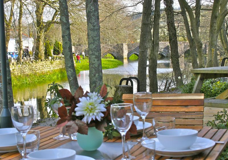 Overlooking Fowey River and Bridge - Lovely extremely well equipped and decorated home - Lostwithiel - rentals