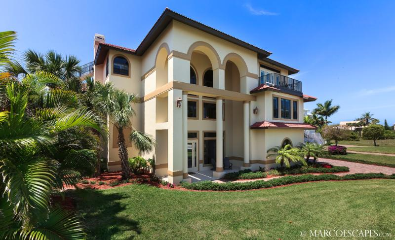 THE SPINNAKER SANDCASTLE - Featured 'Dream Home' in Marco Magazine 2014 !! - Image 1 - Marco Island - rentals