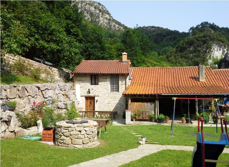 CASA LA TABLÁ - Casa Rural con jardín - ASTURIAS - Image 1 - Penamellera Alta Municipality - rentals