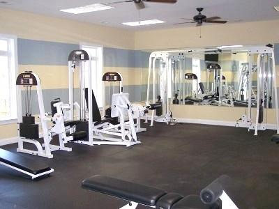 Fitness Room - Tupelo Bay 3 bedroom 2 bath condo - free shuttle - Garden City Beach - rentals