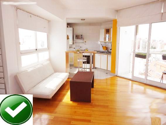TOP FLOOR 1BR AMAZING PANORAMIC VIEW  SHINNY QUIET - Image 1 - Buenos Aires - rentals