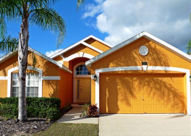 Orange Flower Villa (Orange824-NTO4) Community Lagoon Style Pool! - Image 1 - Davenport - rentals