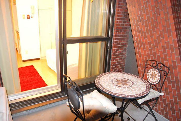 Veranda - ****B&B TokyoCasa/ Heart of Tokyo, private apartment for short stay*** - Shinjuku - rentals