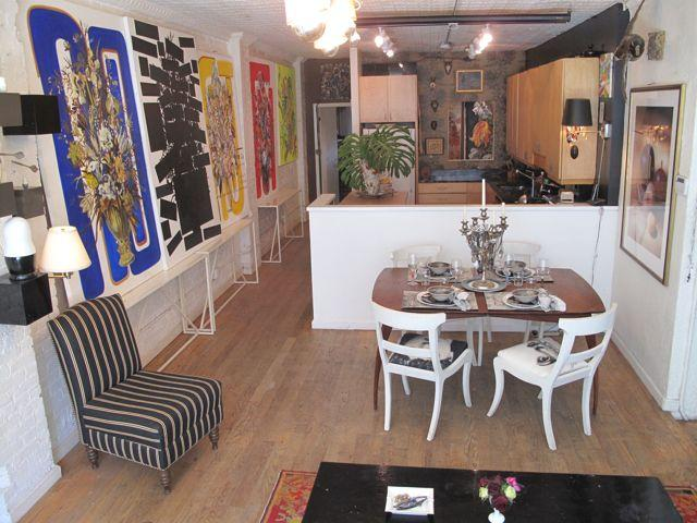 Open Kitchen, Dining, Living Room - CREATIVE LAIR - New York City - rentals