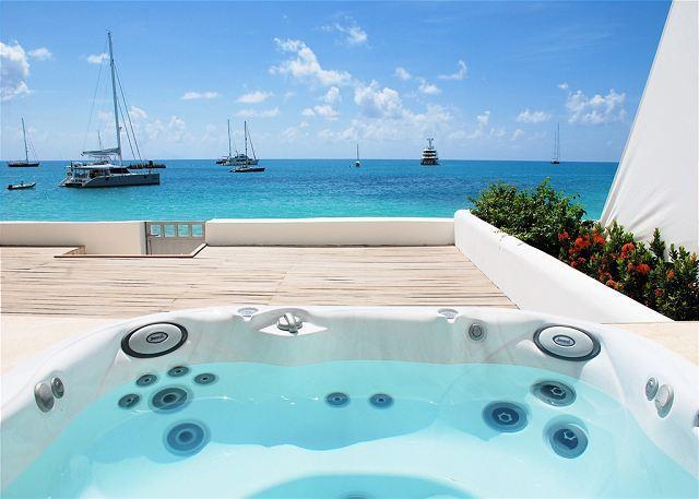 Aqualina Beach Club 102 - 2 Bedroom Beachfront Condo on Simpon Bay Beach! - Image 1 - Saint Martin-Sint Maarten - rentals