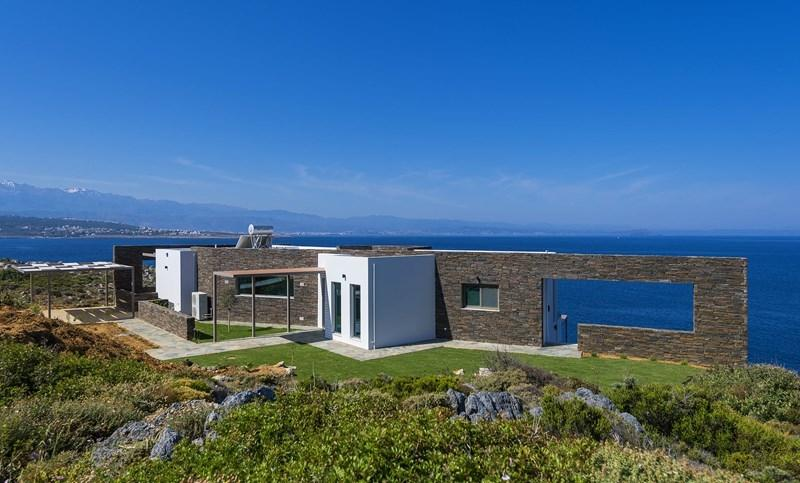 Villa Thalassa holiday vacation villa rental greece, crete, Chania area, sea view, pool, air conditioning, holiday vacation villa to re - Image 1 - Chania - rentals