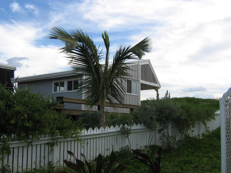 Cottage from the road - Sea Oats Cottage in Hope Town Elbow Cay, Bahamas - Hope Town - rentals