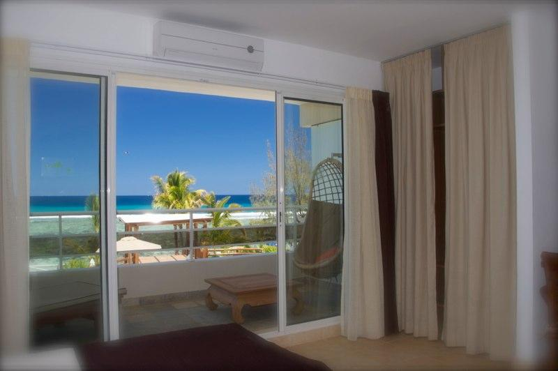 Tamarin Beach Apartments Duplex: Master bedroom sea view - 2, Tamarin Beach Apartments Mauritius - Tamarin - rentals
