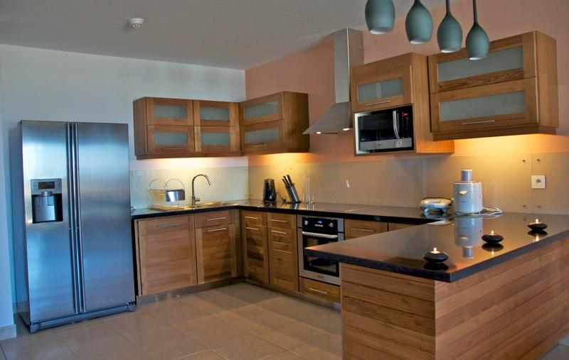 Tamarin Beach Apartments Duplex: American Kitchen - 3, Tamarin Beach Apartments Mauritius - Tamarin - rentals
