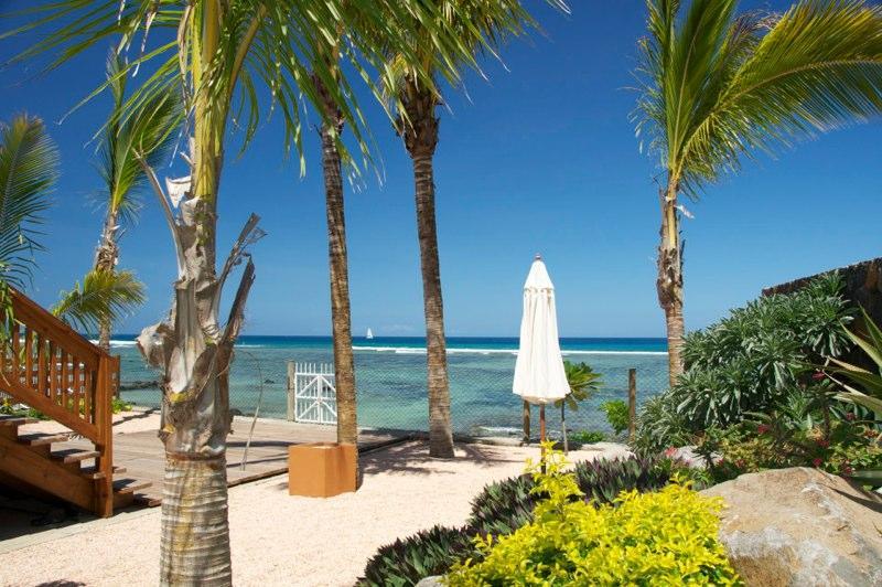 Tamarin Beach Apartments view of the beach from pool area - 7, Tamarin Beach Apartments Mauritius - Tamarin - rentals