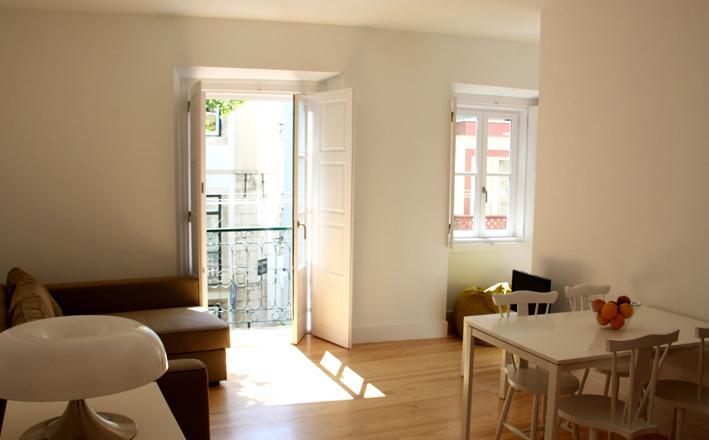 Living area - Sé de Lisboa I - Lisbon - rentals