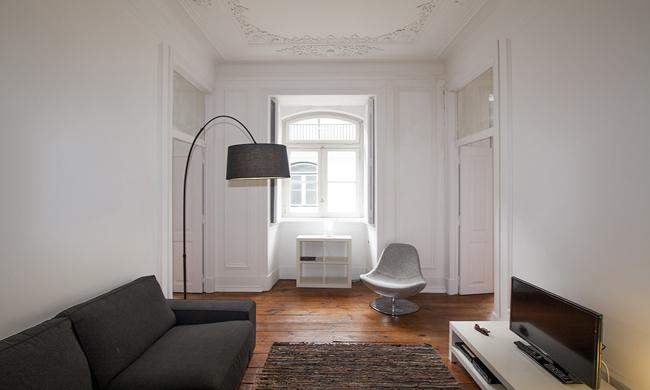 Living room - Casa São Mamede III - Lisbon - rentals