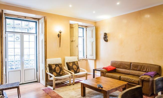 Living room - Rossio Convento da Encarnação - Lisbon - rentals