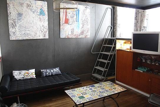 Stylish & eccentric studio rue Duhesme_apt #1199 - Image 1 - Paris - rentals