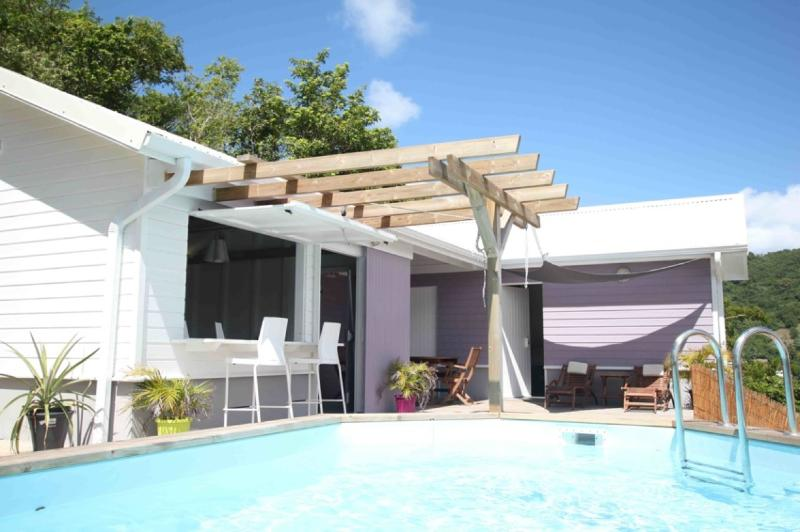Villa avec piscine - Villa de charme entre mer et montagnes (2 chambres) - Le Diamant - rentals