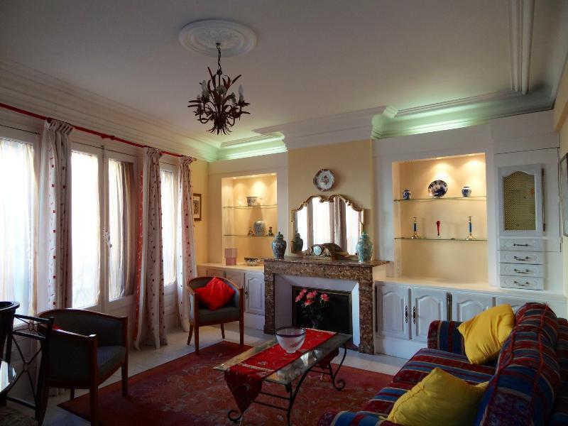 The grand salon - Beziers City centre Boutique 2 bedroom apartment - Béziers - rentals