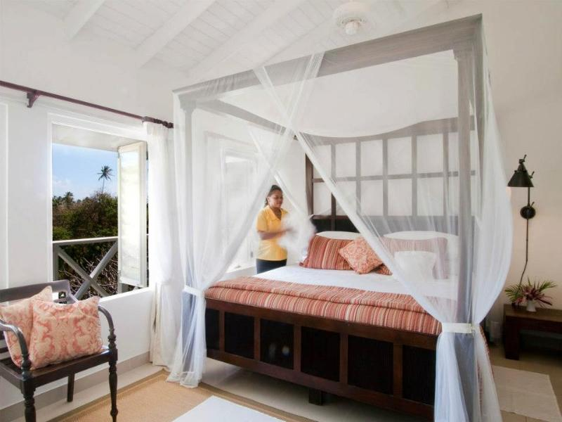 The master bedroom - Plantation Cottage at Firefly Bequia - Bequia - rentals