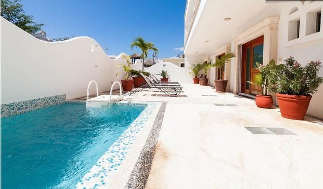 2BR, Pool, Terrace with Bar ! UNIT CRISTINA D4 - Image 1 - Playa del Carmen - rentals