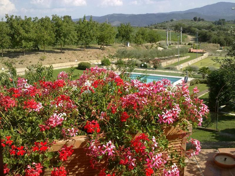 13th Century Convent landscape - LUXURY 13th century CONVENT  W/POOL: Perfect for groups + family reunion + WEDDINGS - Panicale - rentals