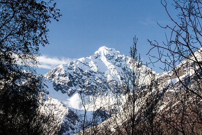 Eagle Peak from house - Eagle Peak Guesthouse / Eagle River Valley - Eagle River - rentals
