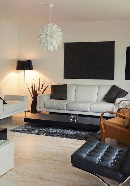 This is the living room. Modern but comfortable :) - Reykjavik Condo - Luxury apartment - Reykjavik - rentals