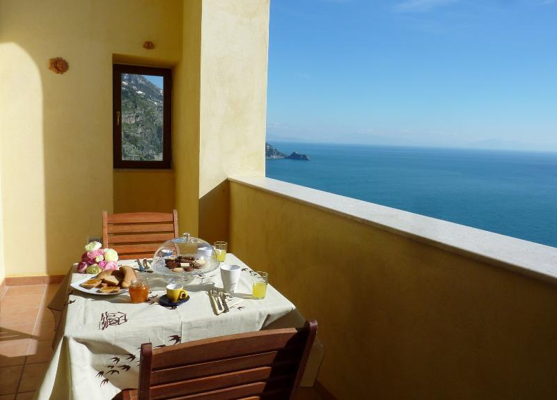 Stylish apartment with open sea view on the Amalfi Coast - Image 1 - Praiano - rentals