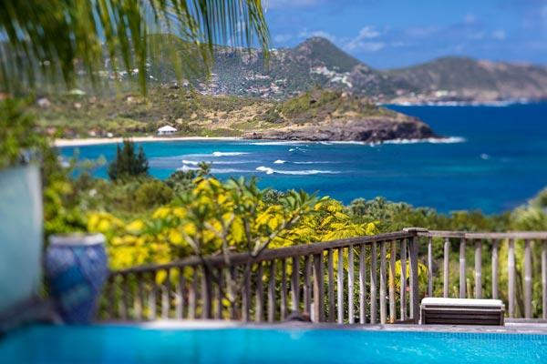 Lovely villa nestled in the hillside of Camaruche, St Barts WV VKA - Image 1 - Camaruche - rentals
