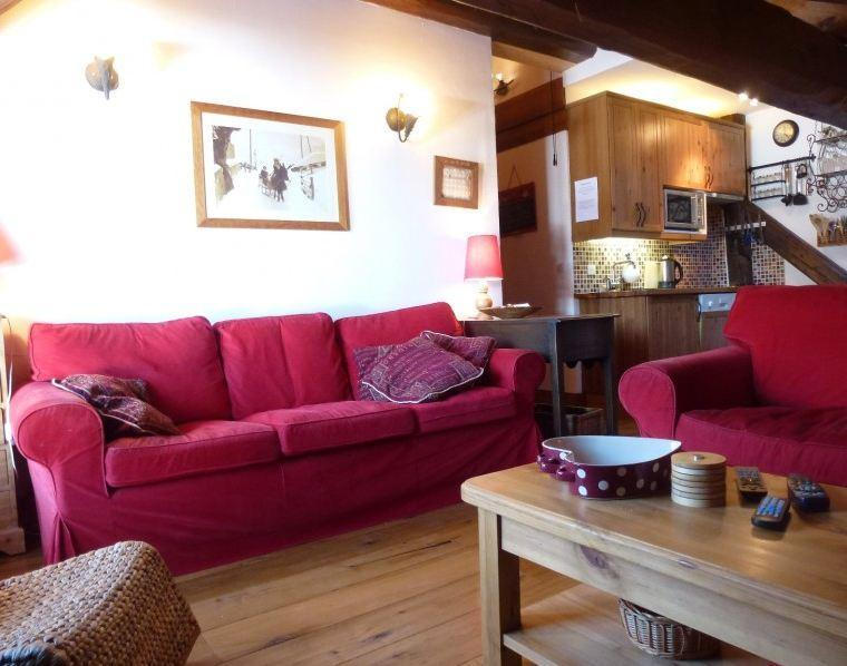 Lounge - Penthouse Ski Apartment - Meribel - rentals