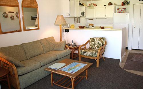 Living area - Molokai_Shores 121 - Kaunakakai - rentals