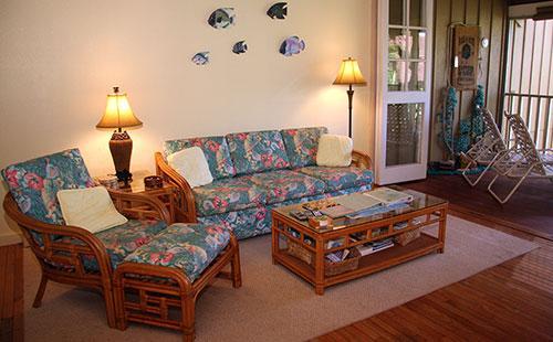 living area - Paniolo Hale Q3 - Maunaloa - rentals