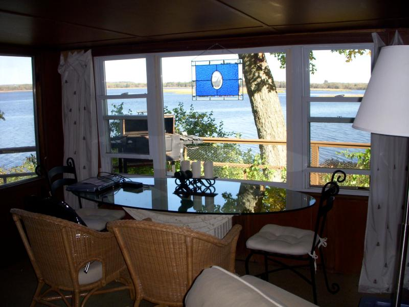 Front window - 255' OF WATERFRONT ON BLACK RIVER BAY/LAKE ONTARIO - Sackets Harbor - rentals