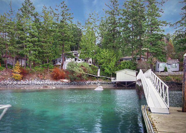 Waterfront Home with Deep Water Dock Privileges! - (Laurel Point) - Image 1 - San Juan Island - rentals