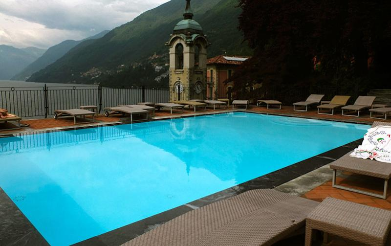 the pool - a balcony over the lake - Faggeto Lario - rentals