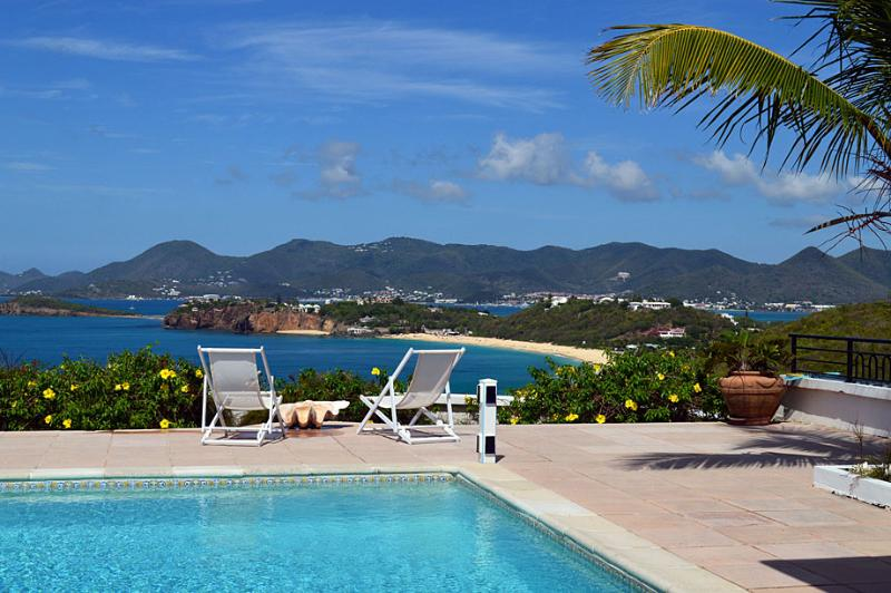 3 bedroom villa, great views over Baie Rouge Beach - Image 1 - Saint Martin-Sint Maarten - rentals