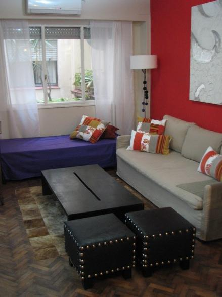 Living Room - sofa - Modern & Nice Apartment in the center of Buenos Aires - San Telmo - Capital Federal District - rentals